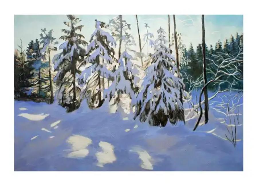 Stora VinterSmycke  135x200cm
